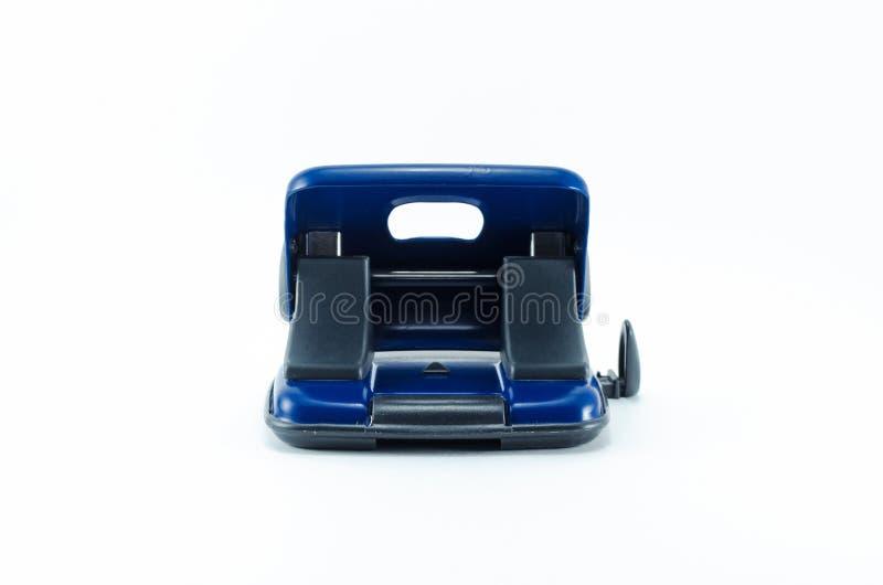 被隔绝的蓝色打孔器 图库摄影