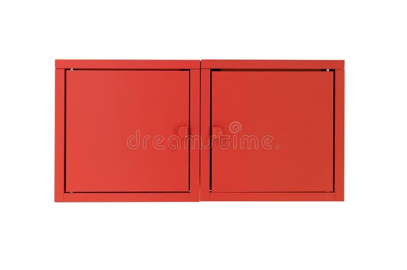 被隔绝的衣物柜箱子 免版税库存照片