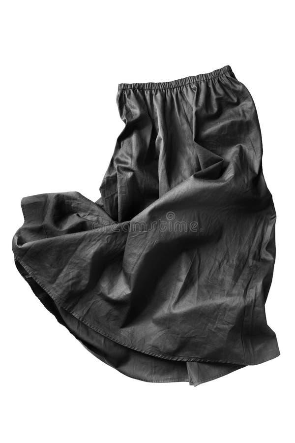被隔绝的被弄皱的裙子 免版税库存图片