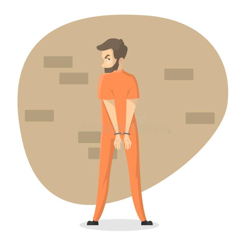 被隔绝的被监禁的集合 皇族释放例证
