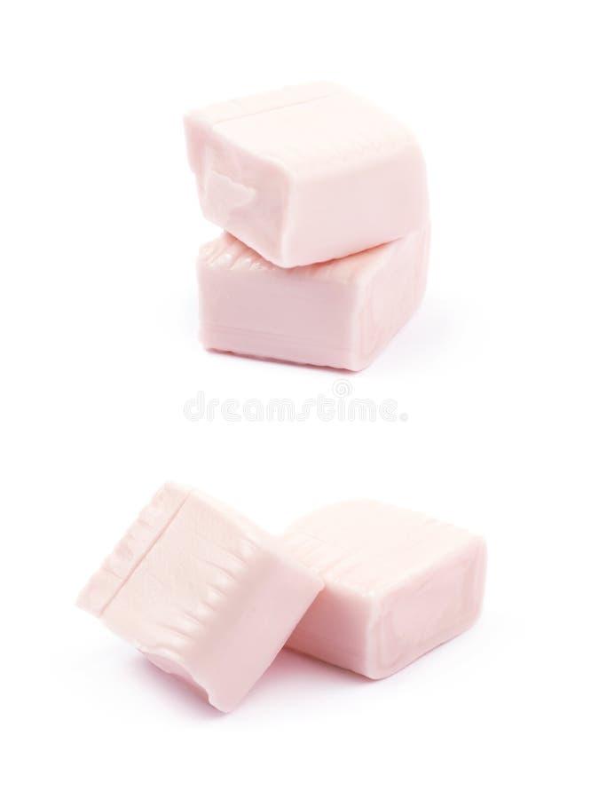 被隔绝的口香糖糖果 库存照片