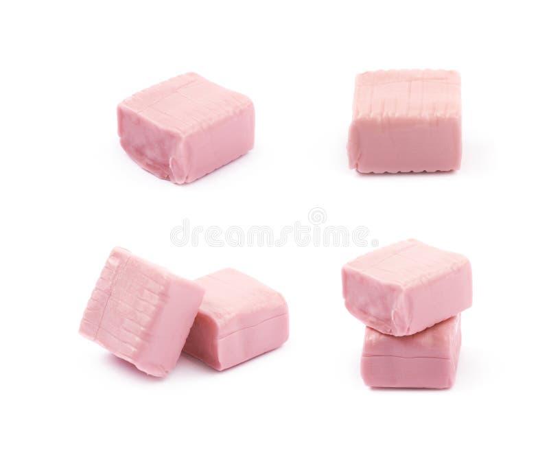 被隔绝的口香糖糖果 库存图片