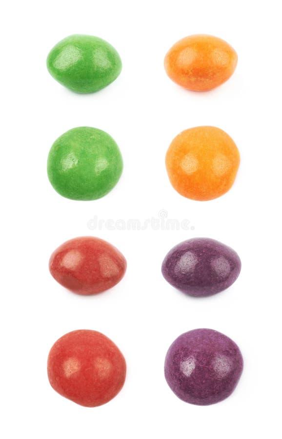 被隔绝的唯一嚼的糖果 免版税图库摄影