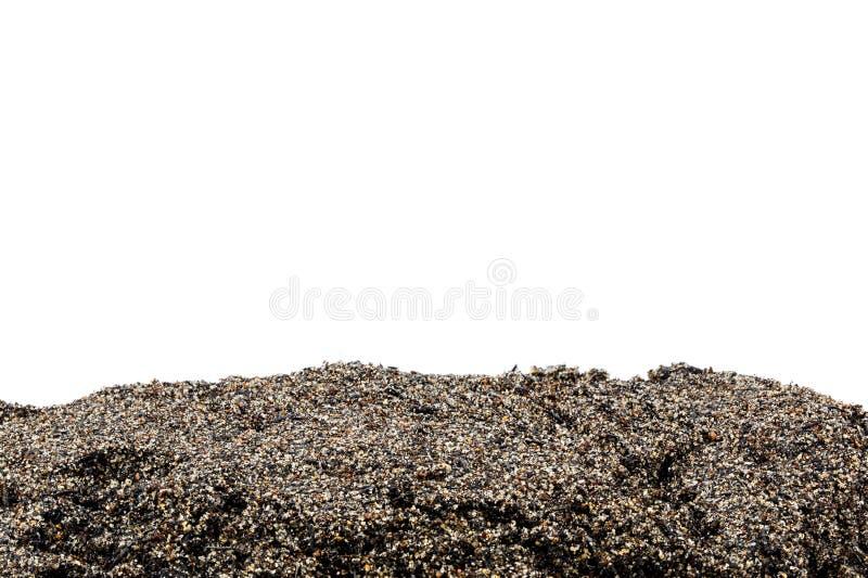 被隔绝的土壤或土部分 库存照片
