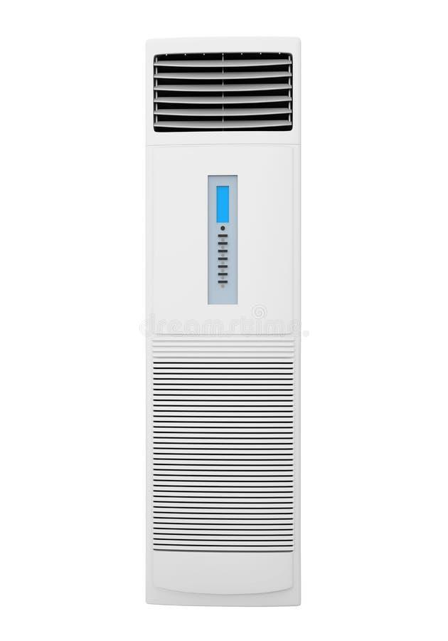 被隔绝的地板常设空调器 向量例证