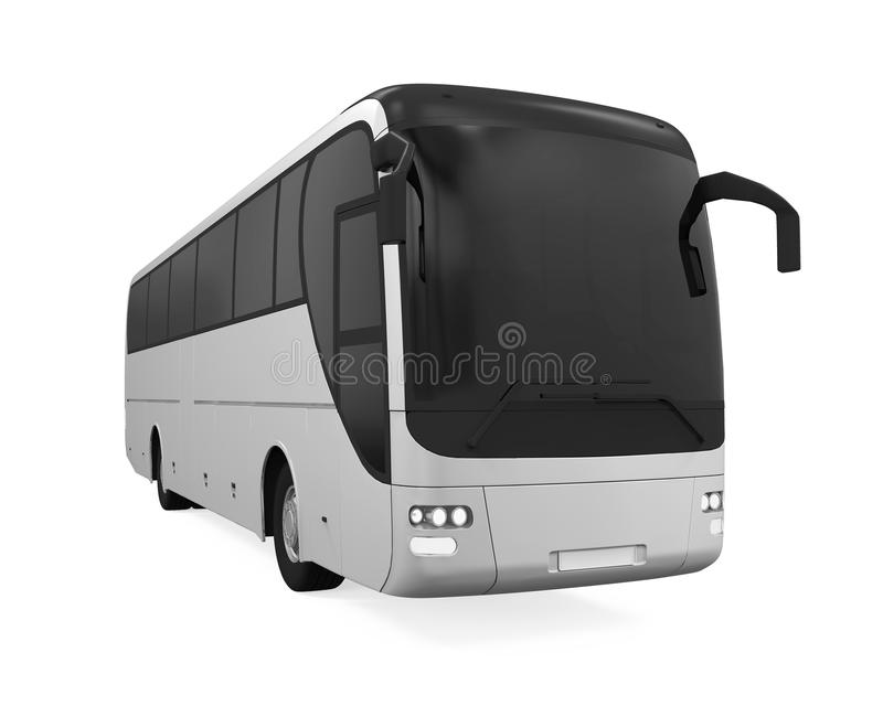 被隔绝的教练公共汽车 向量例证