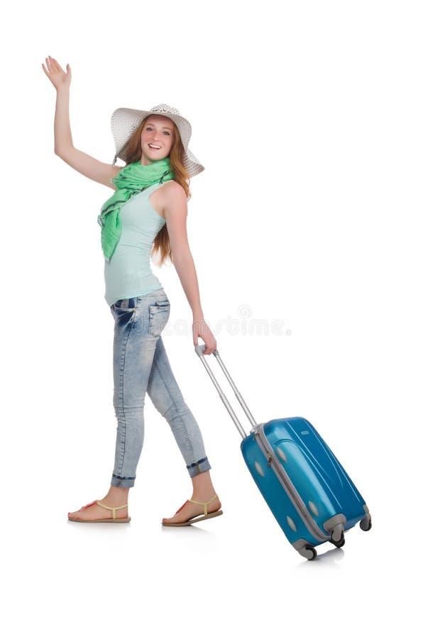 被隔绝的旅行的旅游业概念 免版税库存照片