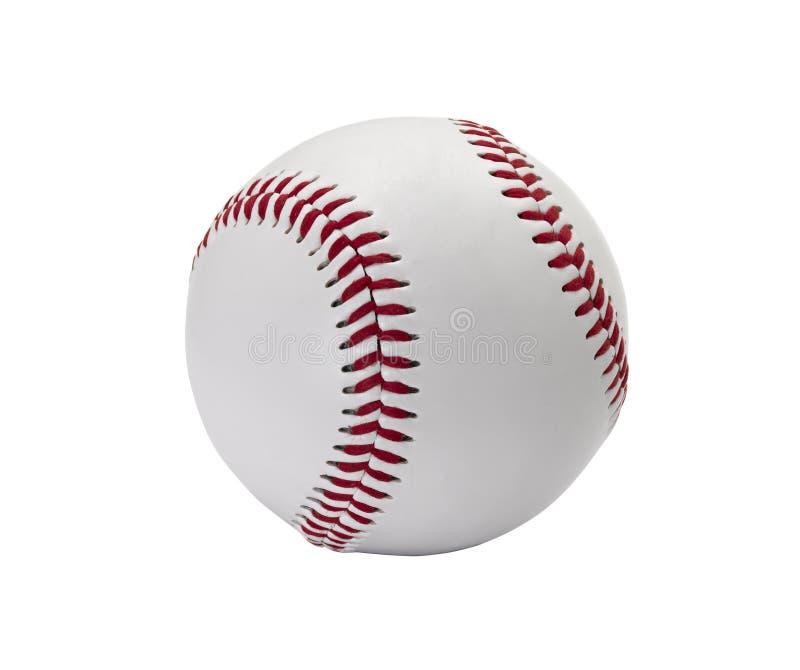被隔绝的棒球球 库存照片