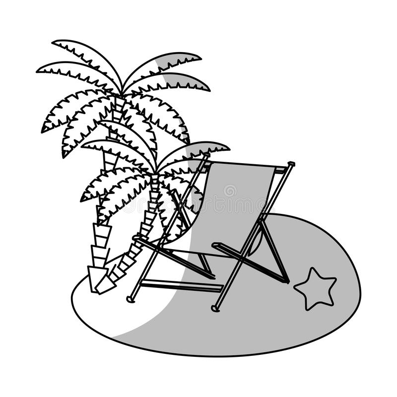 被隔绝的棕榈树设计. 抽象, 有机.图片