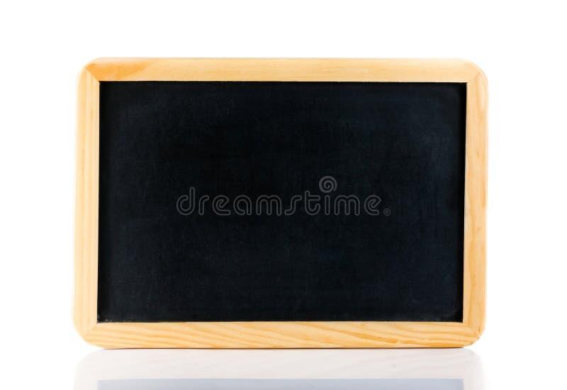 被隔绝的空的黑板 免版税库存照片