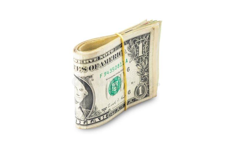 被隔绝的美元 免版税库存照片