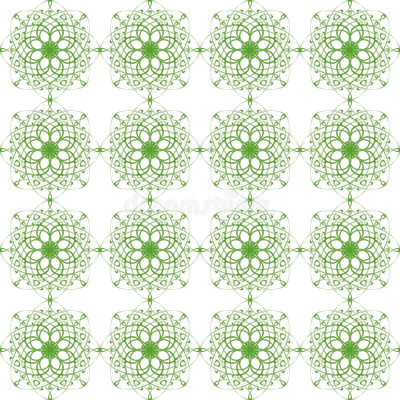 被隔绝的美妙的典雅的五颜六色的纹理 向量例证