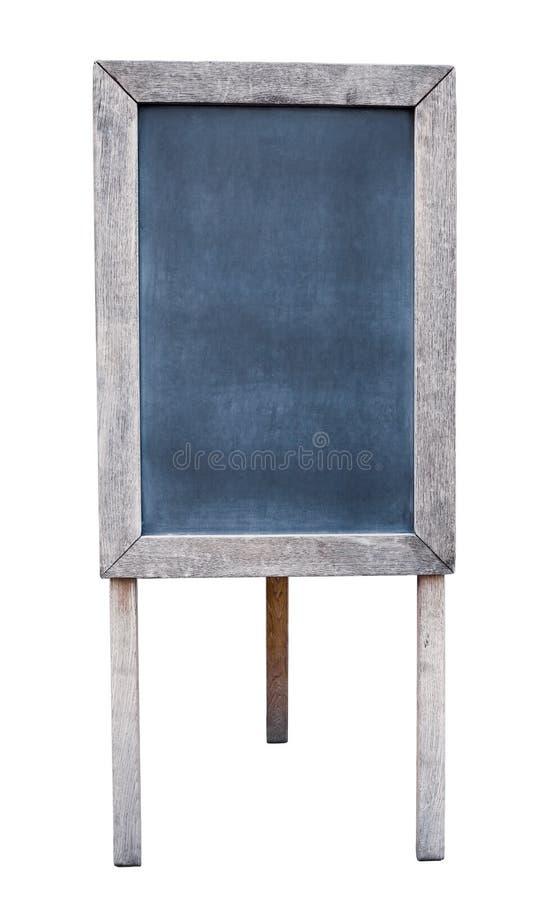 被隔绝的老木菜单板 免版税库存图片