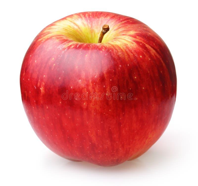 被隔绝的苹果计算机果子 免版税库存图片