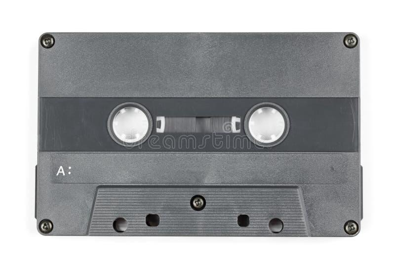 被隔绝的葡萄酒卡型盒式录音机 免版税库存照片