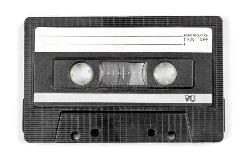 被隔绝的葡萄酒卡型盒式录音机 库存图片