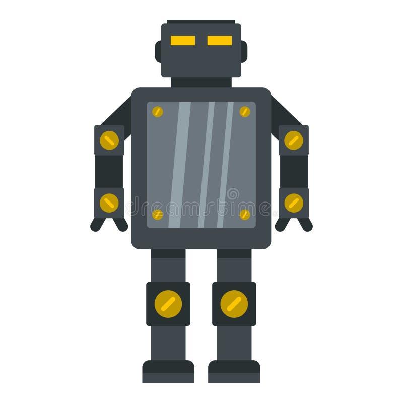 被隔绝的钢机器人象 皇族释放例证