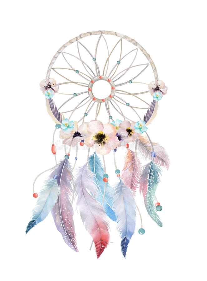 Dreamcatcher boho feath 85098958 for Dream catcher graphic