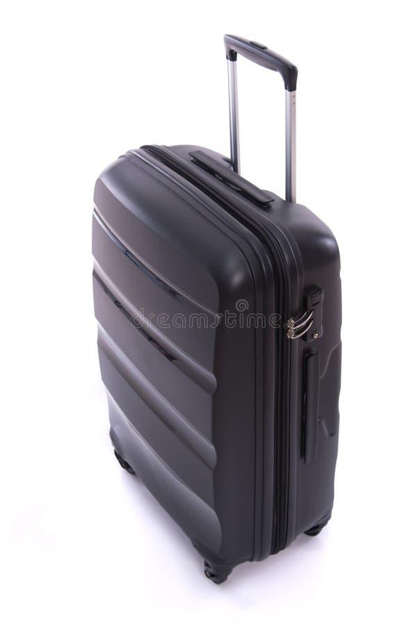被隔绝的黑行李 免版税图库摄影