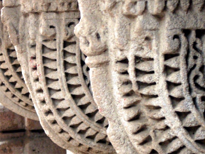 被雕刻的石头 免版税库存图片