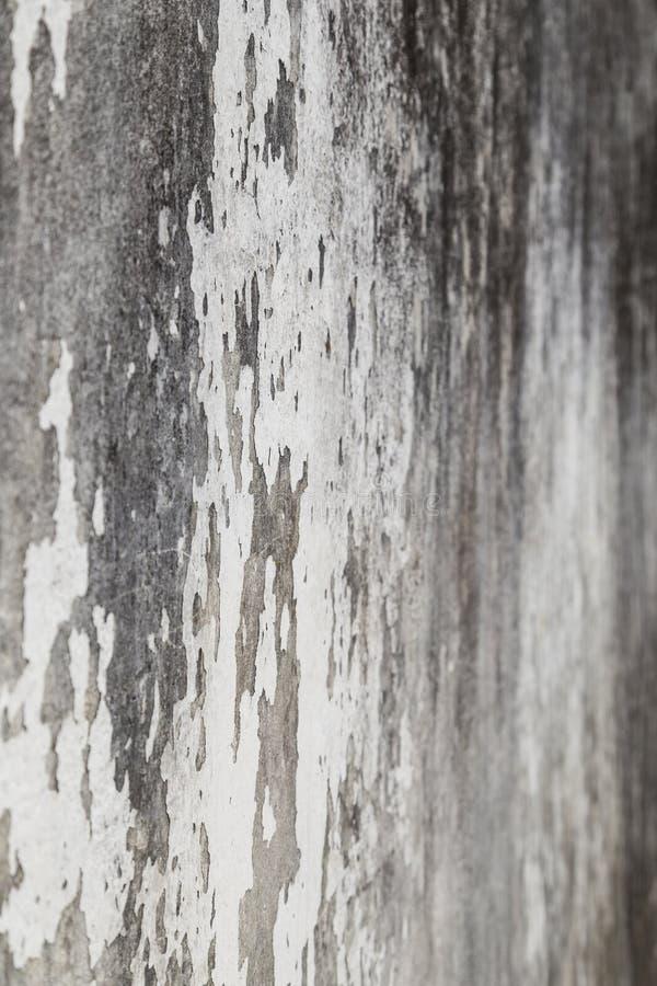 被风化的和涂灰泥的混凝土墙 库存照片