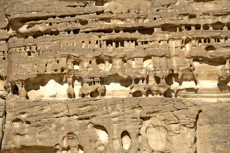 被风化的形成岩石 库存照片