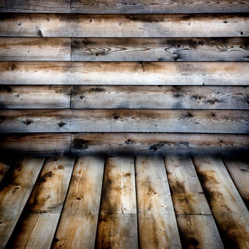 被风化的房屋板壁 免版税库存照片