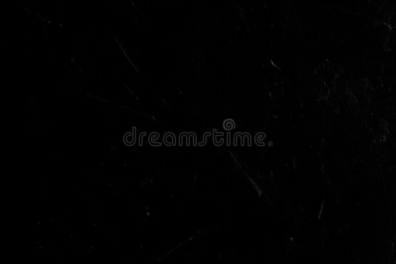 被风化的抽象设计黑色背景抓痕 图库摄影