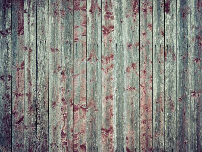 被风化的木板条背景 库存照片