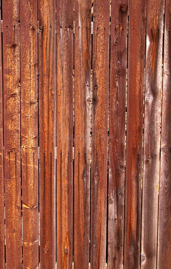 被风化的木篱芭板,未完成的木头 库存图片