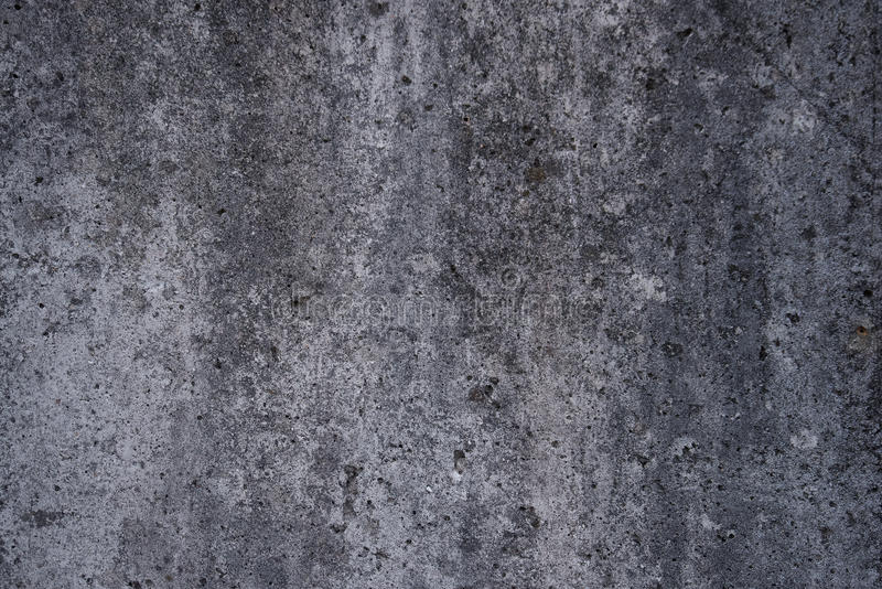 被风化的混凝土墙背景 免版税库存图片