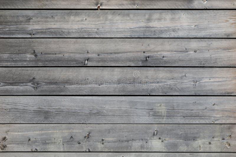 被风化的灰色木背景 免版税库存图片