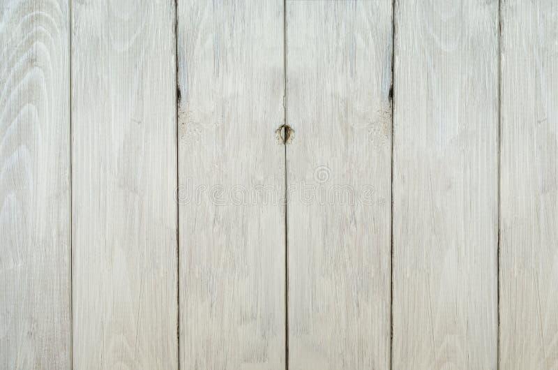 被风化的白色篱芭背景 库存照片