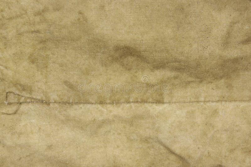 被风化的退色的军事军队Hhaki伪装背景Textu 免版税库存图片