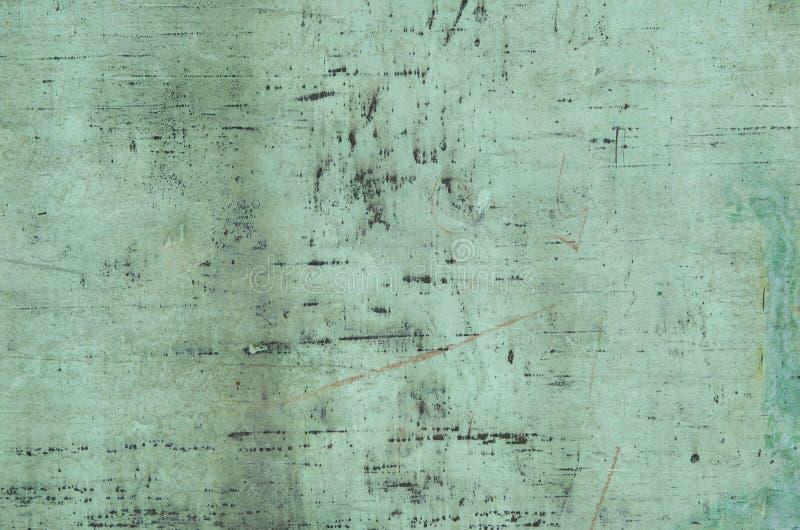 被风化的铜背景  免版税库存图片