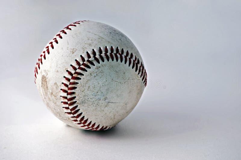 被风化被佩带的棒球 免版税图库摄影