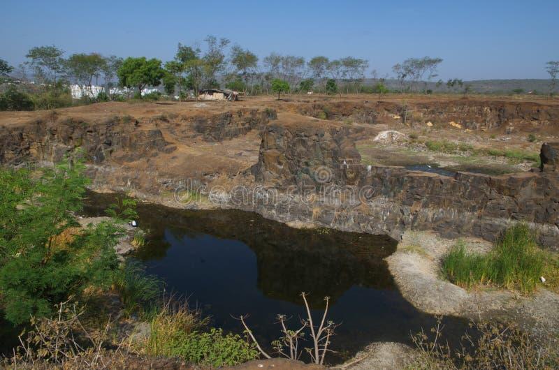 被破坏的Warje水池II 图库摄影