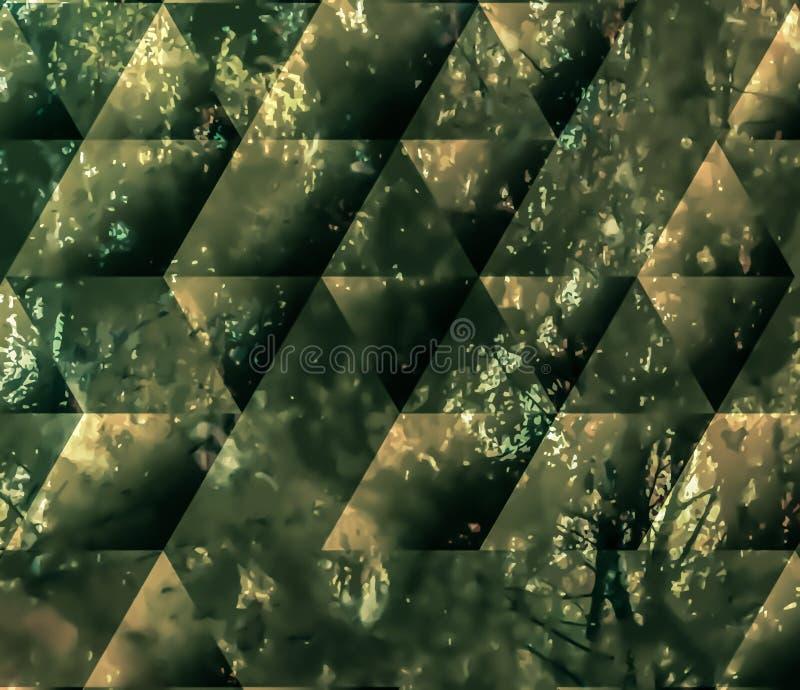 被绘的抽象背景 皇族释放例证