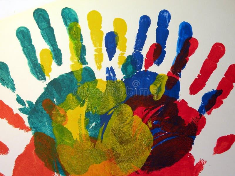 Download 被绘的摘要 库存例证. 插画 包括有 黄色, 空白, 绘画, 颜色, 上色, 抽象, 红色, 蓝色, 五颜六色 - 30326514