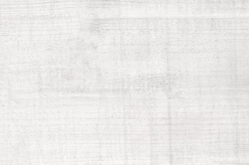 被绘的白色木纹理切口、砧板或者水平的板条地板,桌表面 免版税库存图片