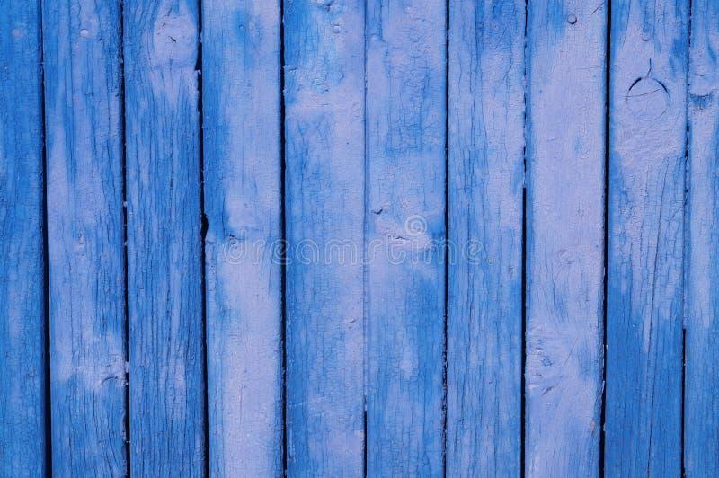 被绘的老木墙壁 图库摄影