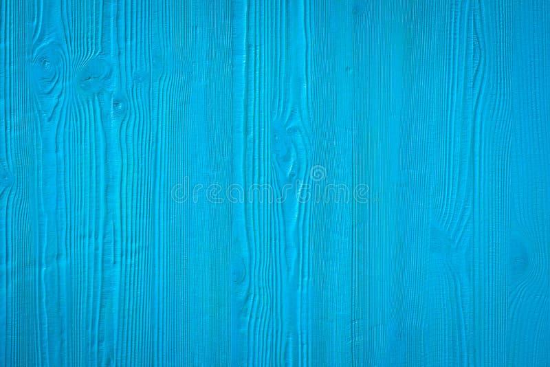 被绘的蓝色木板 免版税库存图片