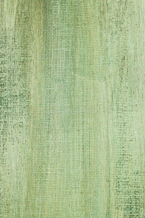 被绘的绿色帆布背景纹理 库存照片