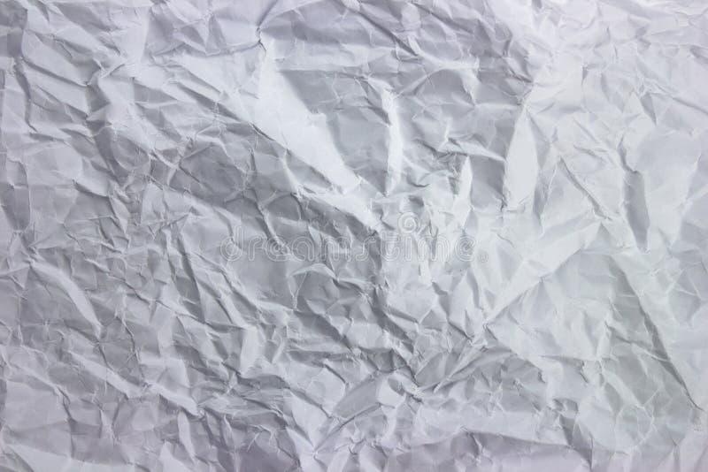 被击碎的白皮书纹理 免版税库存照片