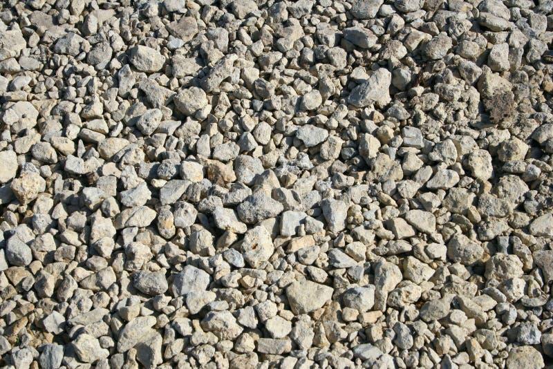 被击碎的石灰石2 免版税库存图片