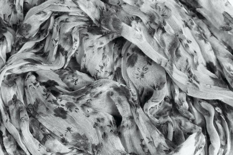 被仿造的被弄皱的织品纹理背景 图库摄影