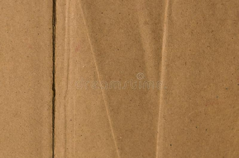 裁减和单篇论文服务老褐色颜色和葡萄酒纸板纸箱表面  抽象纹理背景关闭 ?? 库存图片