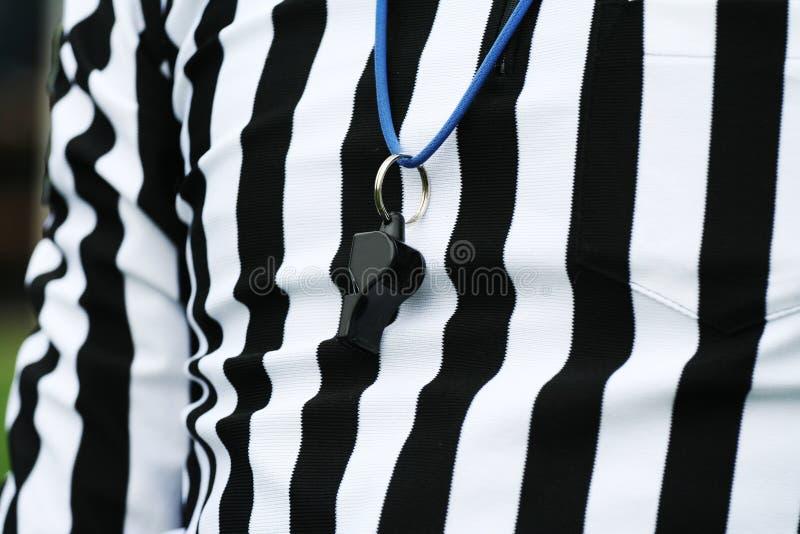 裁判体育运动 免版税库存照片