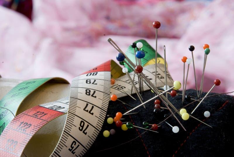 裁缝工具 库存照片