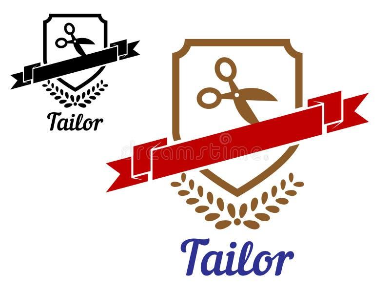 裁缝或缝合的象征 皇族释放例证